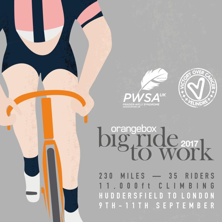 Orange Box – Big Ride to Work2017